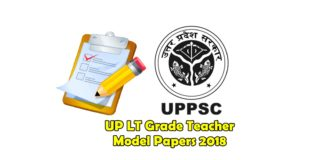 UP LT Grade Teacher Model Papers 2018
