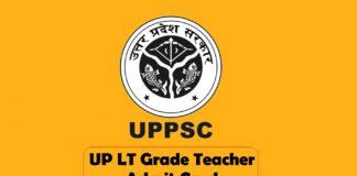 up lt grade teacher admit card download now