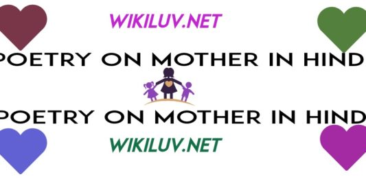 poetry in hindi on mother